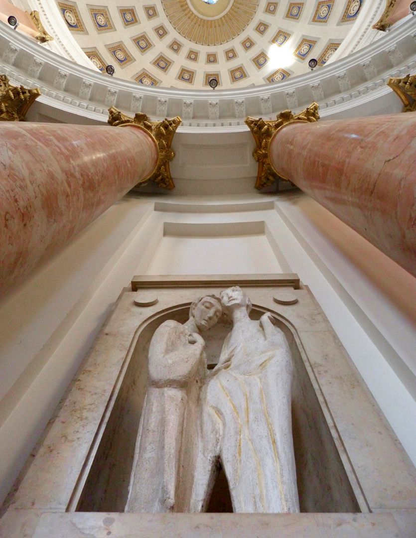 Christus und Thomas Untersicht