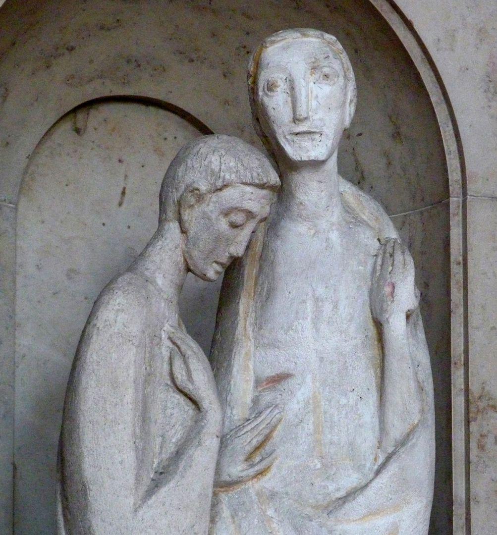 Christus und Thomas Christus und Thomas, Detailansicht