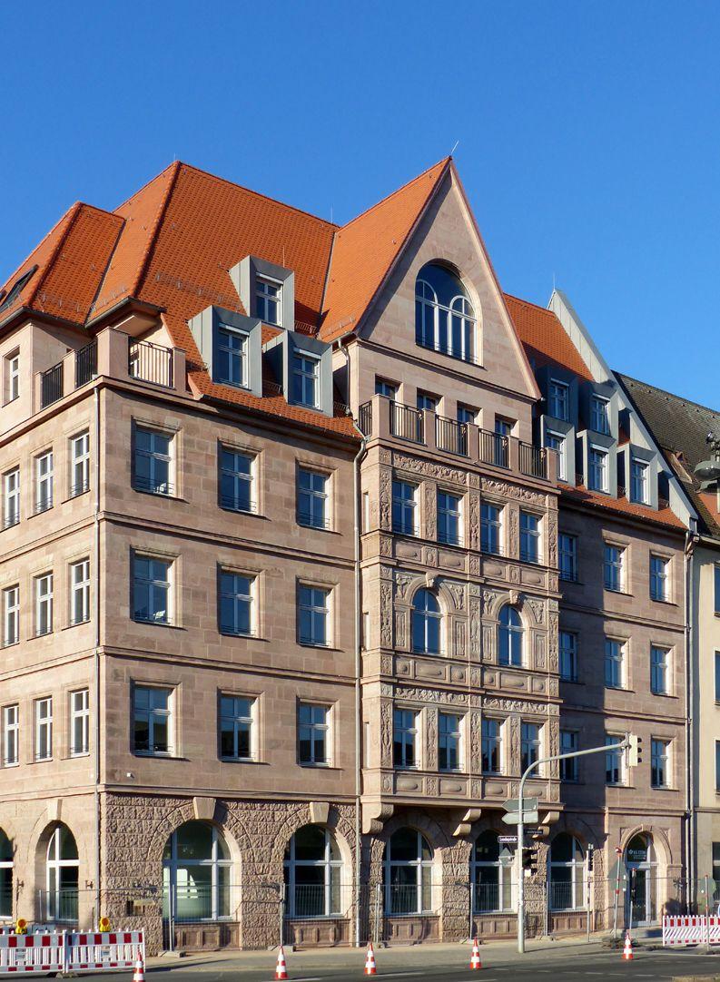 Hotel Deutscher Hof Ansicht von Nordost