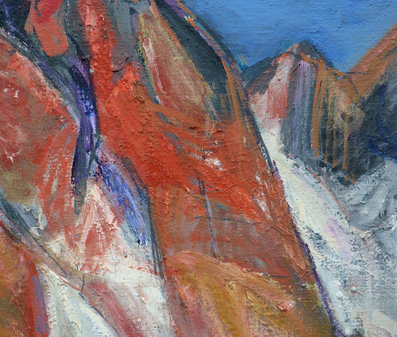 Dolomiten: Die Geisler Spitzen Berge und Schnee