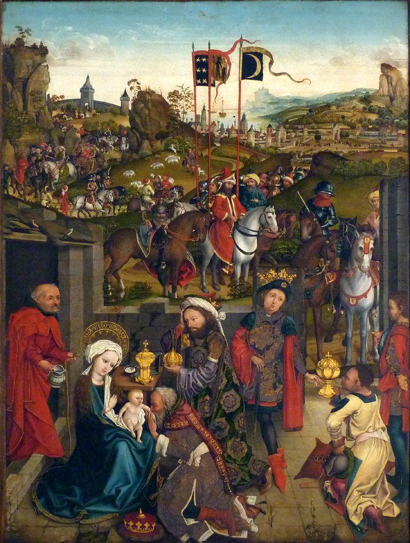 Dreikönigsaltar Anbetung der Könige