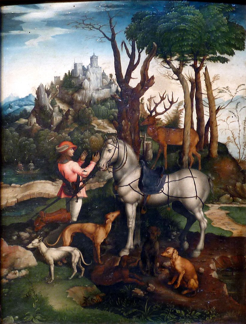 Kopie des hl. Eustachius nach Albrecht Dürer