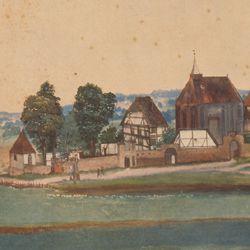 Kirche und Kirchhof von Sankt Johann bei Nürnberg