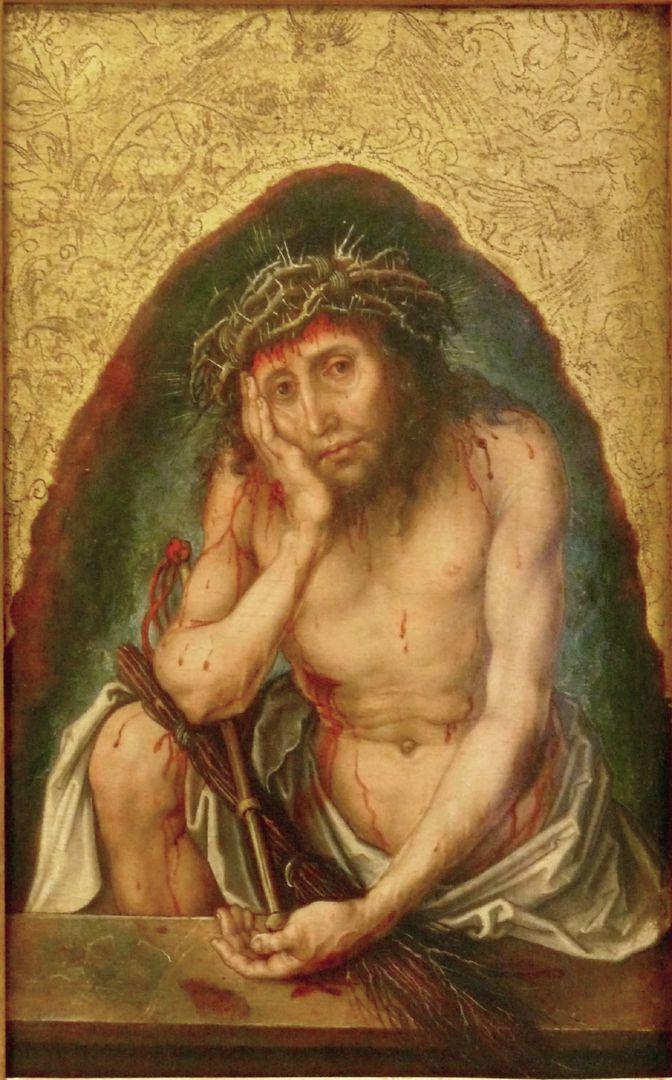 Christus als Schmerzensmann Vorderseite
