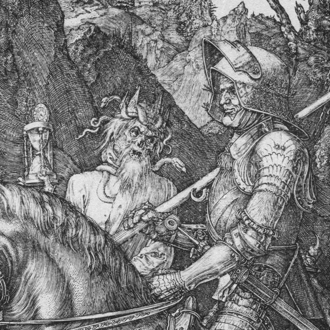 Ritter, Tod und Teufel Tod und Ritter