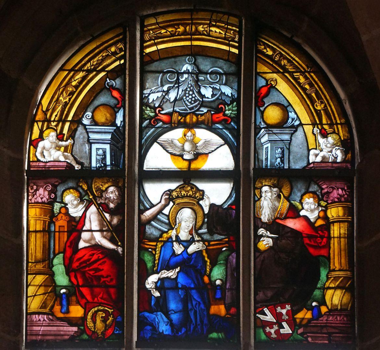 Himmelfahrt und Krönung Mariä Marienkrönung der Rochuskapelle in Nürnberg (1522)