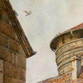 Nürnberg, Neutormauer mit Neutorturm