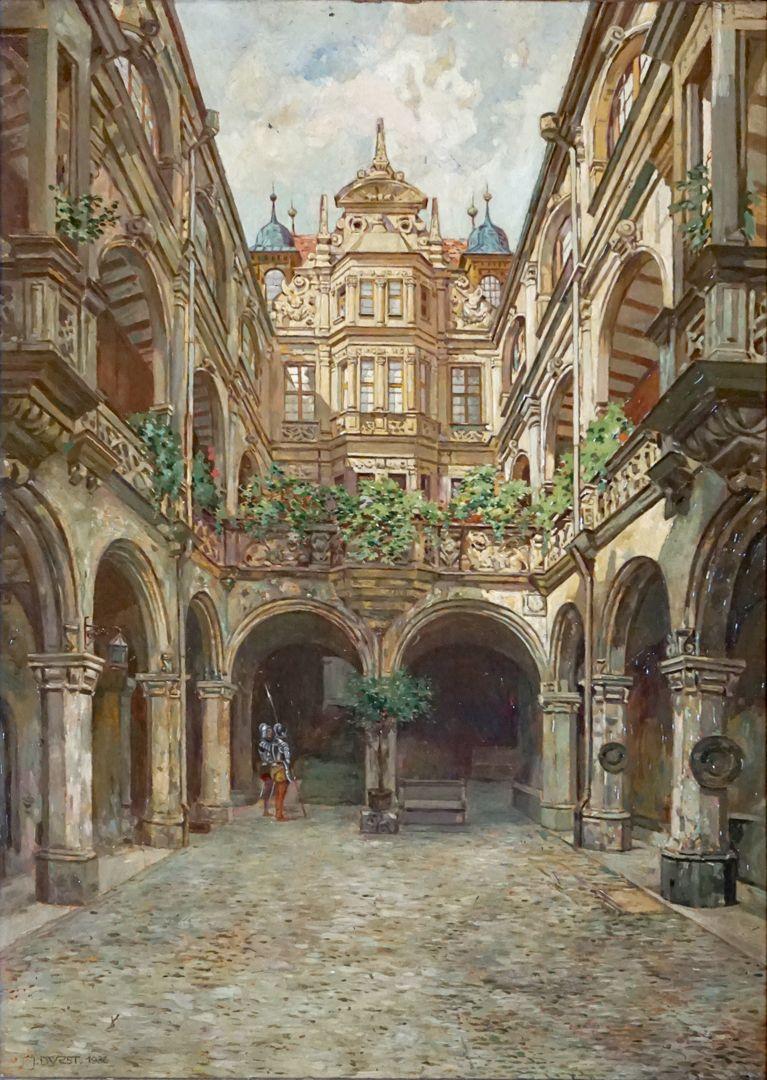 Hof des Pellerhauses