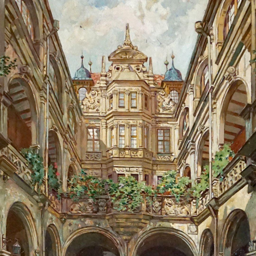 Hof des Pellerhauses Detailansicht