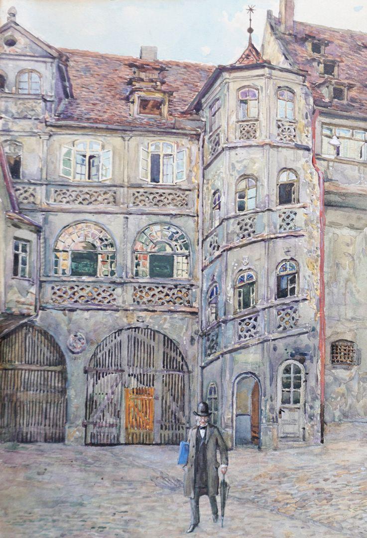 Bayerischer Hof in Nürnberg linkes Bilddrittel