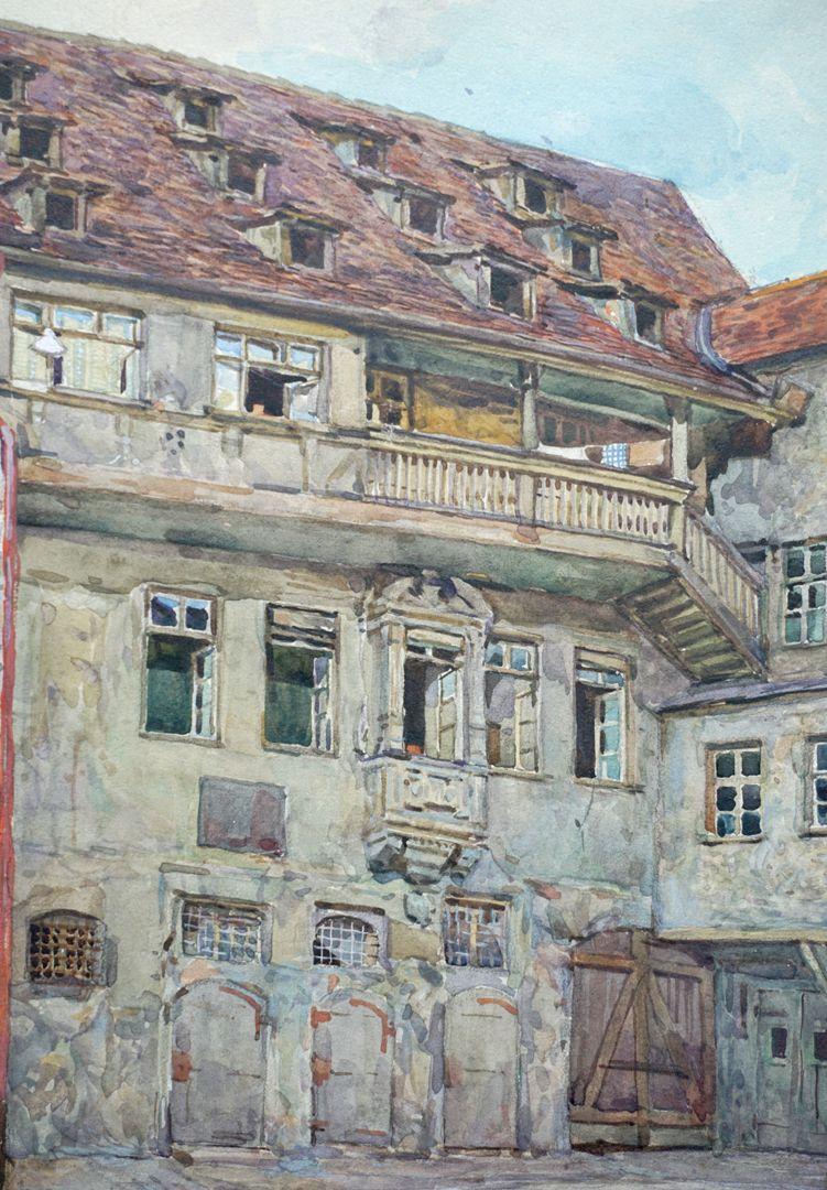 Bayerischer Hof in Nürnberg mittlere Bildfläche, Detailansicht