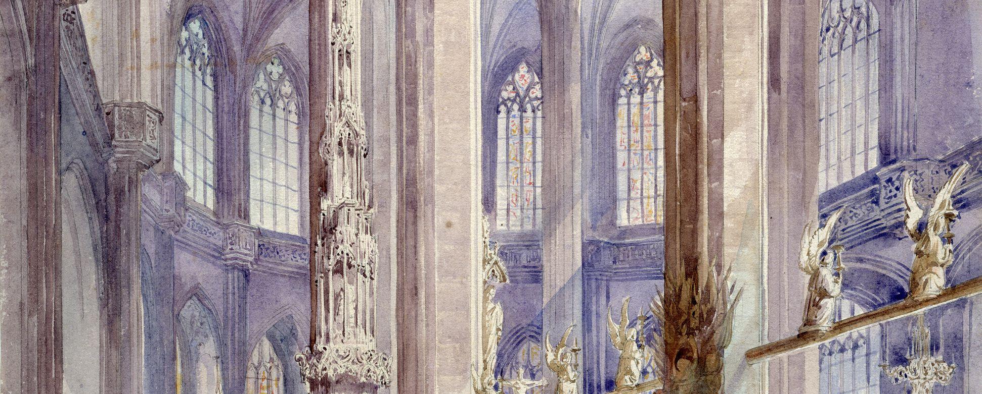 Sakramentshaus mittleres Bildfeld