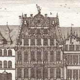Prospect des Platzes der Dilling-hof genannt zu Nürnberg