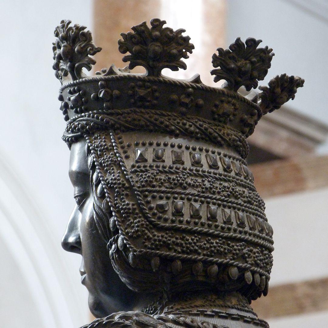 Elisabeth von Ungarn  (Innsbruck) Kopf in schräger hinterer Ansicht
