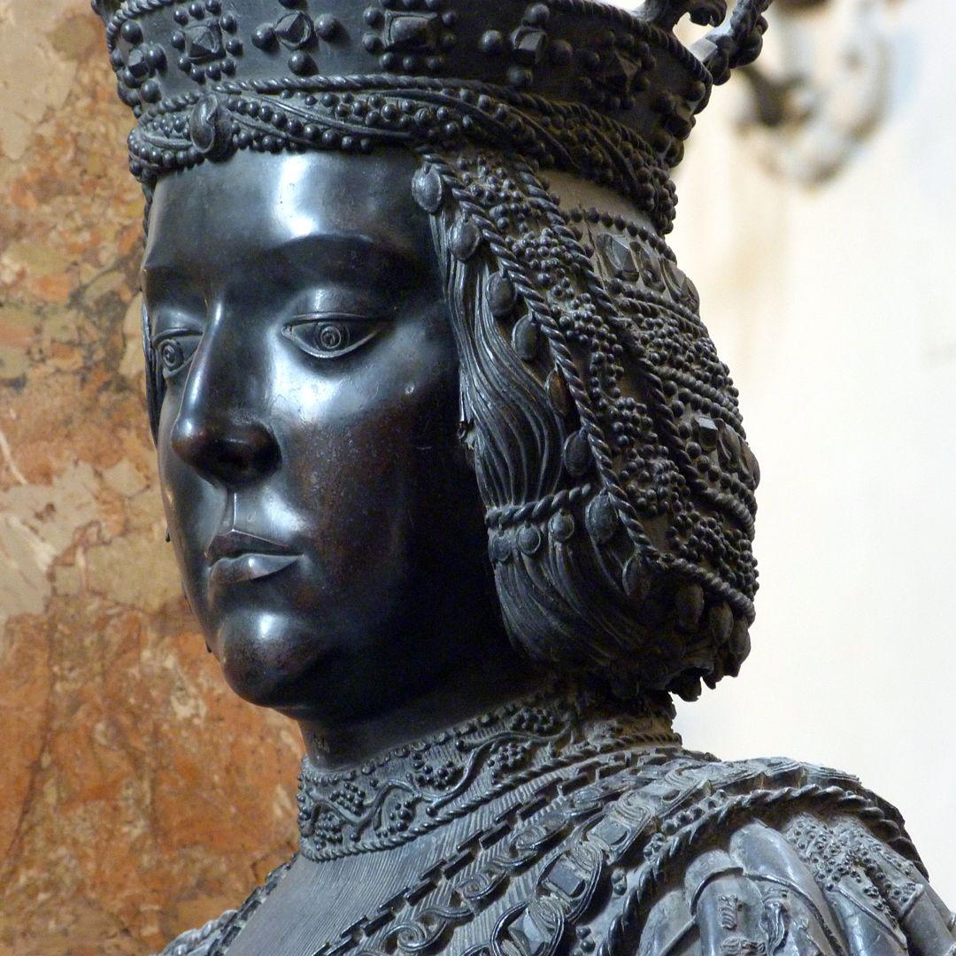 Elisabeth von Ungarn  (Innsbruck) Kopf im Dreiviertelprofil