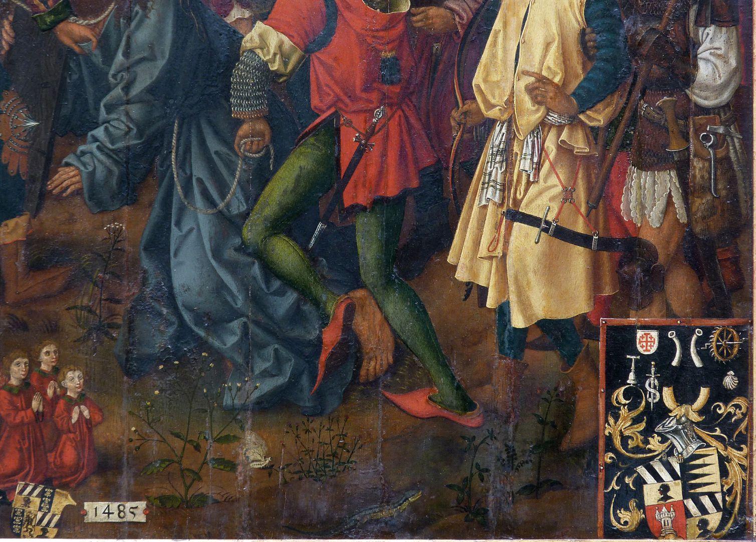 Epitaph für Barbara Tucher Datierung und Wappen