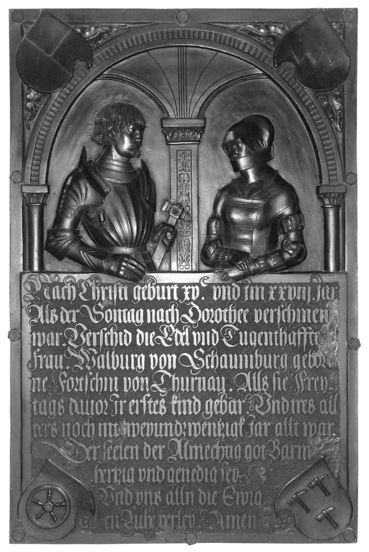 Epitaph der Walburga von Schaumberg und ihres Gemahls, Sebastian Gesamtansicht