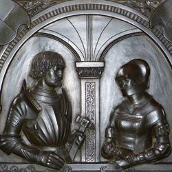 Epitaph der Walburga von Schaumberg und ihres Gemahls, Sebastian