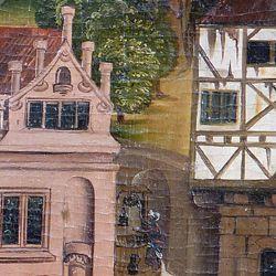 Epitaph des Hans Mayer (gest. 21.8.1473) und Ehefrau Kunigunde, geborene Sternecker (gest. 23.3.1450)