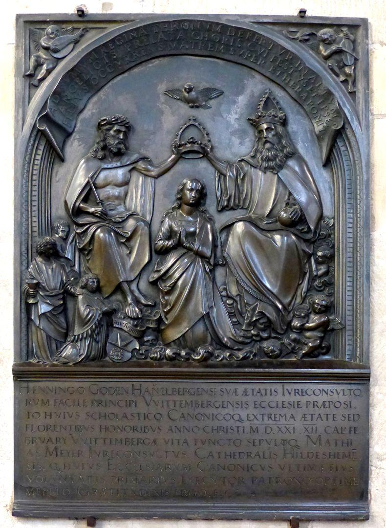 Epitaph des Propstes Henning Göden (gest. 1521) Gesamtansicht