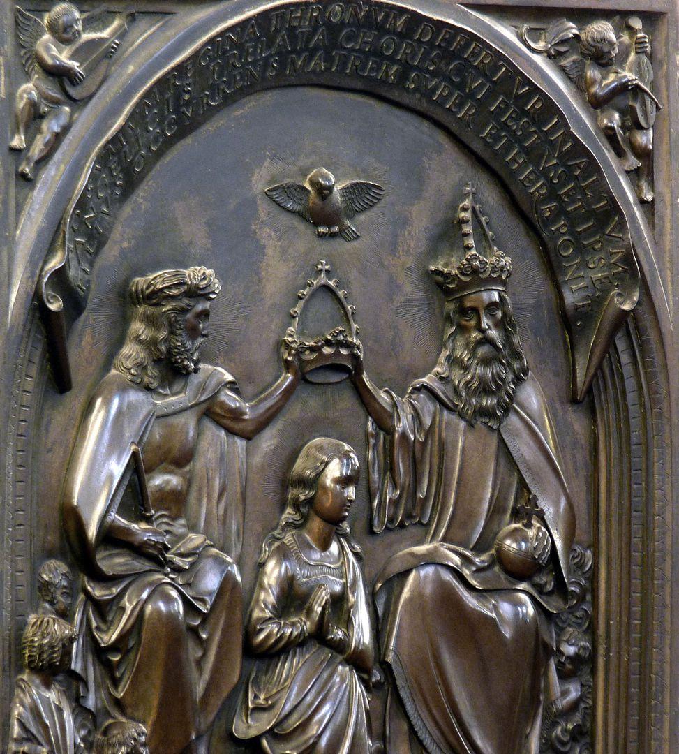 Epitaph des Propstes Henning Göden (gest. 1521) Schrägansicht von links, Detail