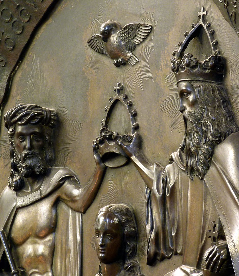 Epitaph des Propstes Henning Göden (gest. 1521) Schrägansicht von rechts, Detail