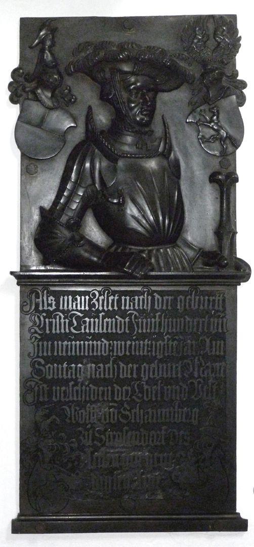 Epitaph des Wolf von Schaumberg Gesamtansicht