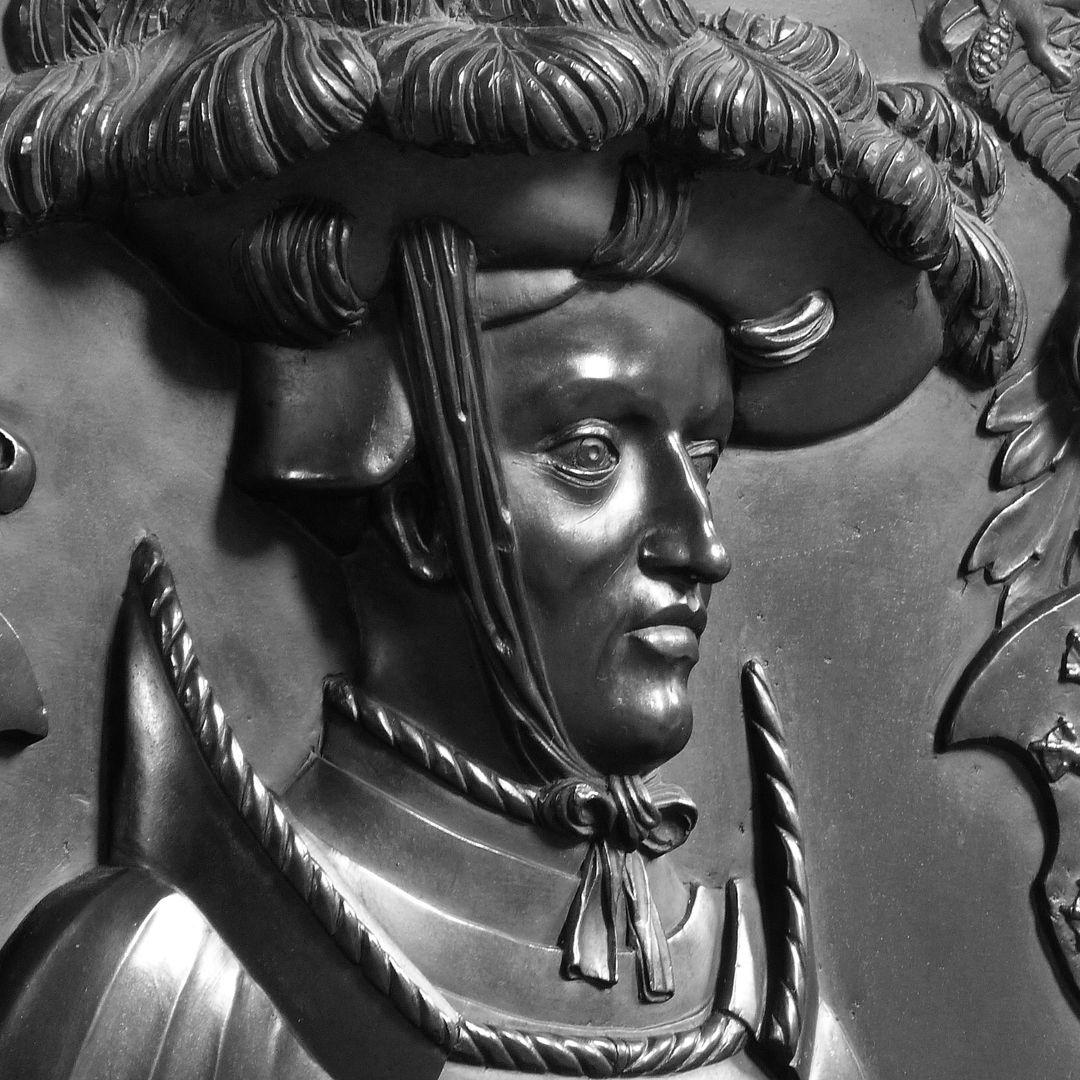 Epitaph des Wolf von Schaumberg Portrait des Verstorbenen