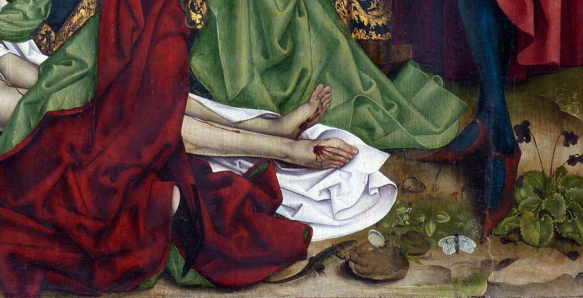 Epitaph für Georg Keyper Die Füße Christi