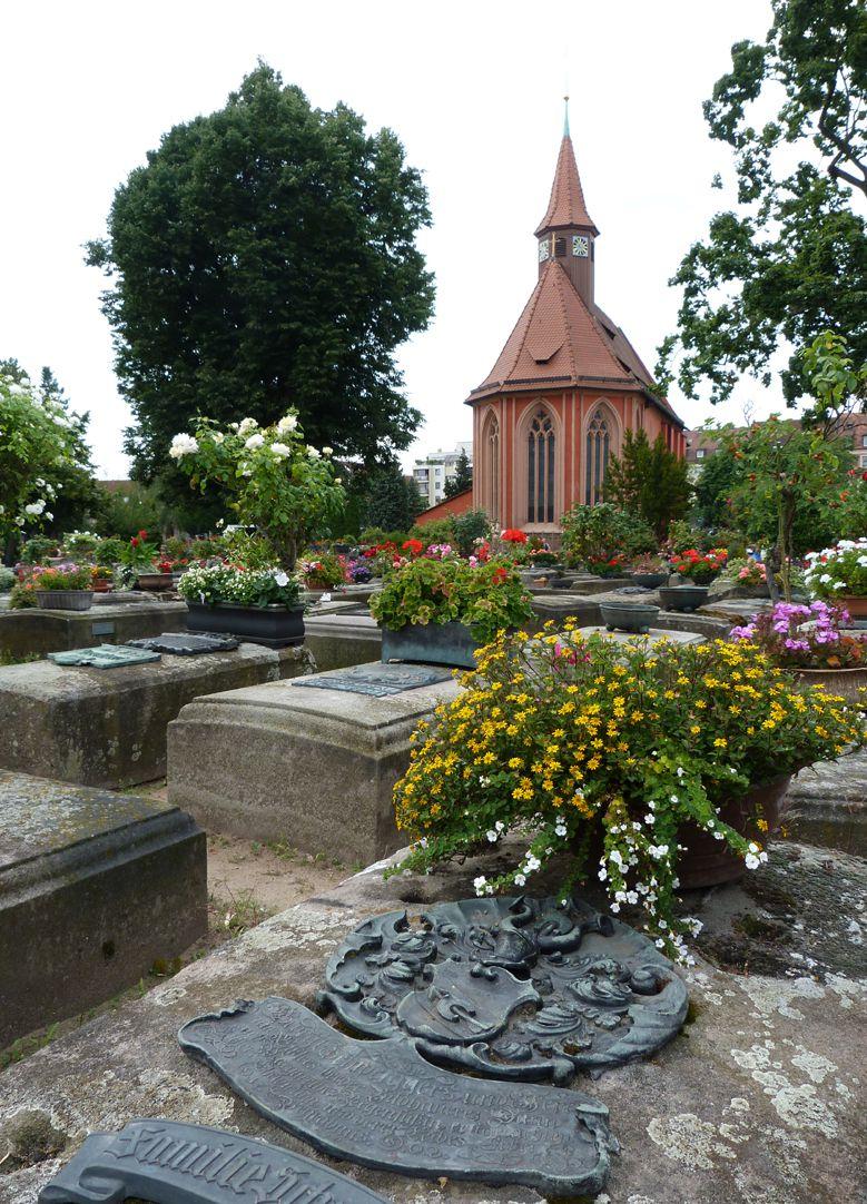 Epitaph von Georg Schweigger, Jeremias Eissler und Margaretha Regenfuss Gräberfeld mit St. Johanniskirche