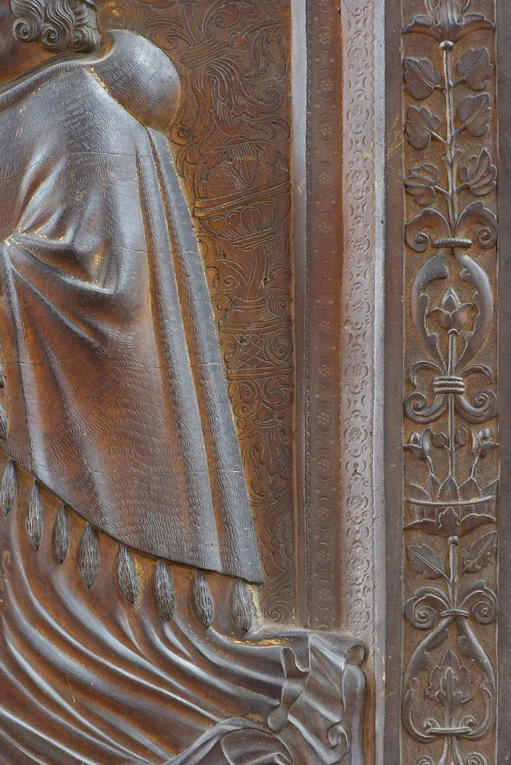 Epitaph für Dr. Hector Pömer d.J. Detail