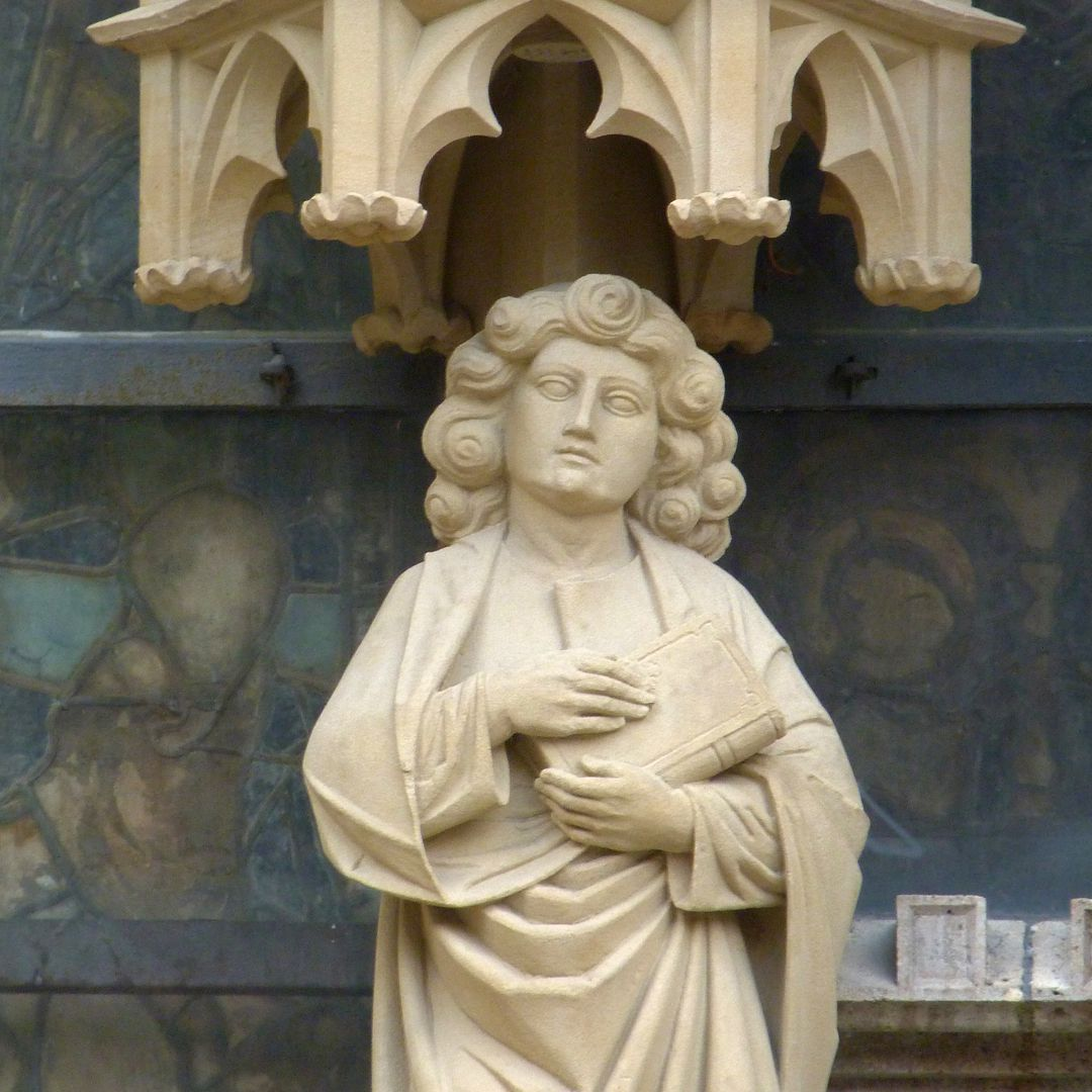 Erbärmdechristus mit Dreiergruppe (Rothenburg o.d. Tauber) Johannes d.E.