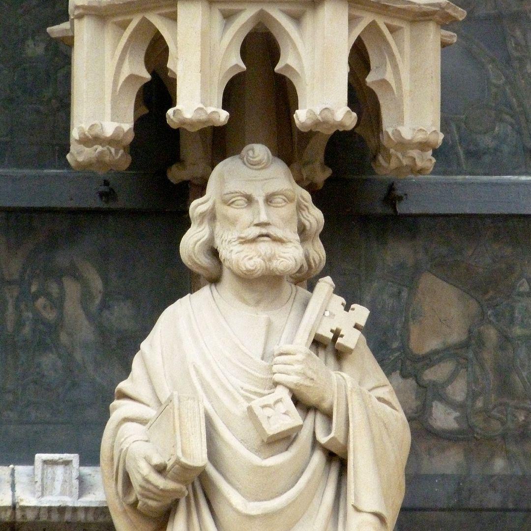 Erbärmdechristus mit Dreiergruppe (Rothenburg o.d. Tauber) Petrus