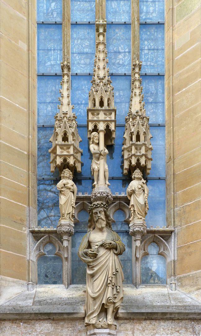 Erbärmdechristus mit Dreiergruppe (Rothenburg o.d. Tauber) Gesamtansicht