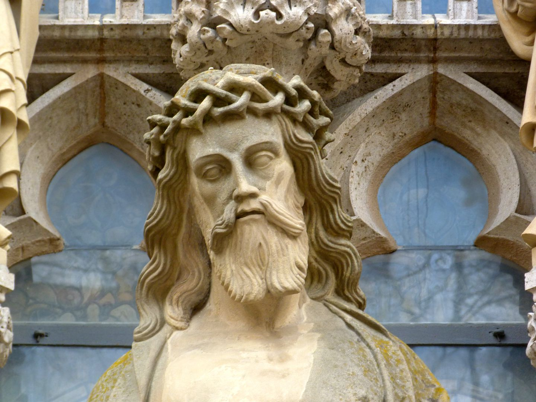 Erbärmdechristus mit Dreiergruppe (Rothenburg o.d. Tauber) Christus