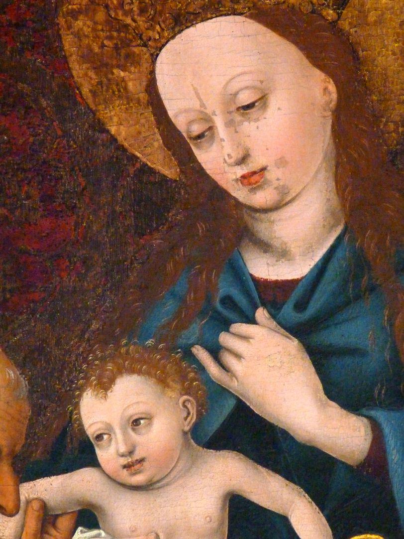 Epitaph der Benigna Holzschuher Maria mit dem Kinde