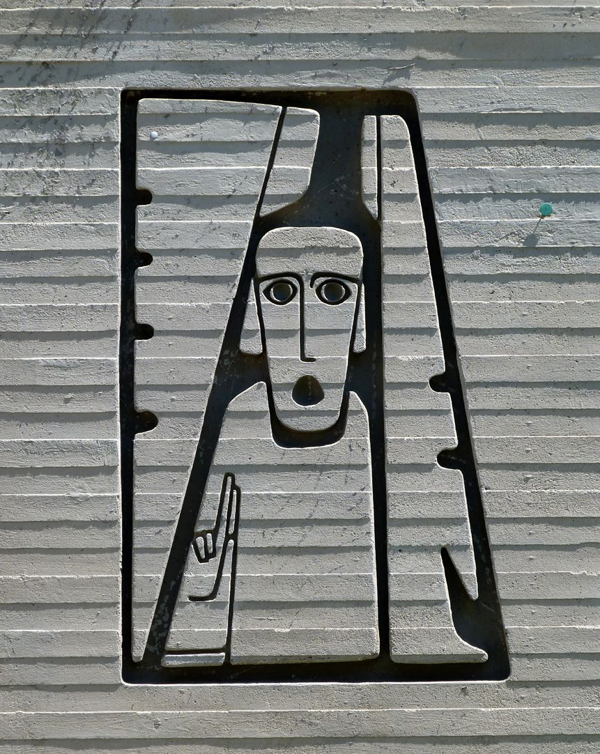 Evangelistensymbole Der Mensch des Evangelisten Matthäus