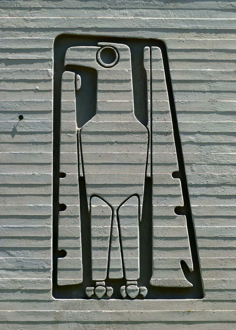 Evangelistensymbole Der Adler des Evangelisten Johannes