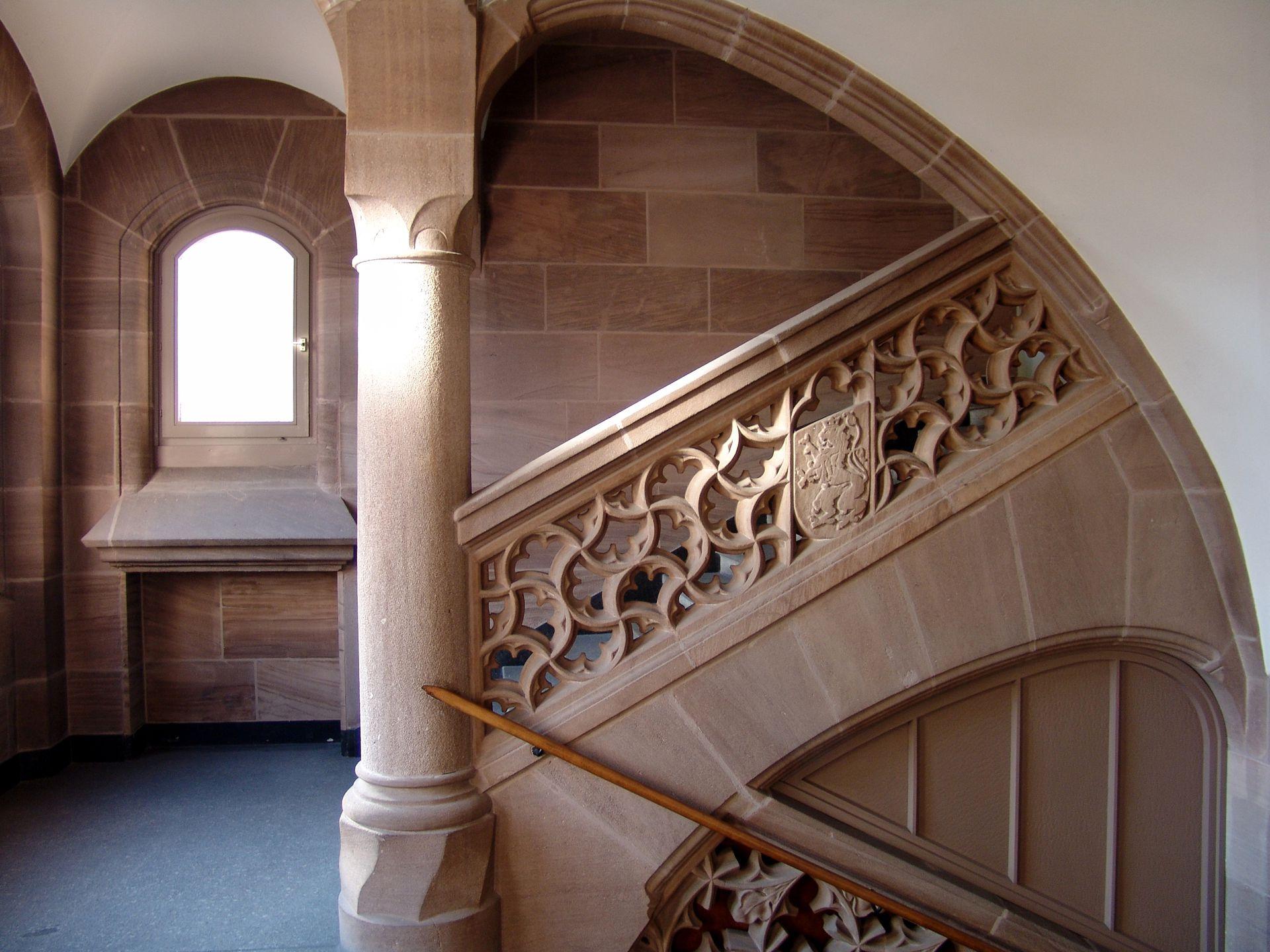 Sozialgericht Treppenhaus