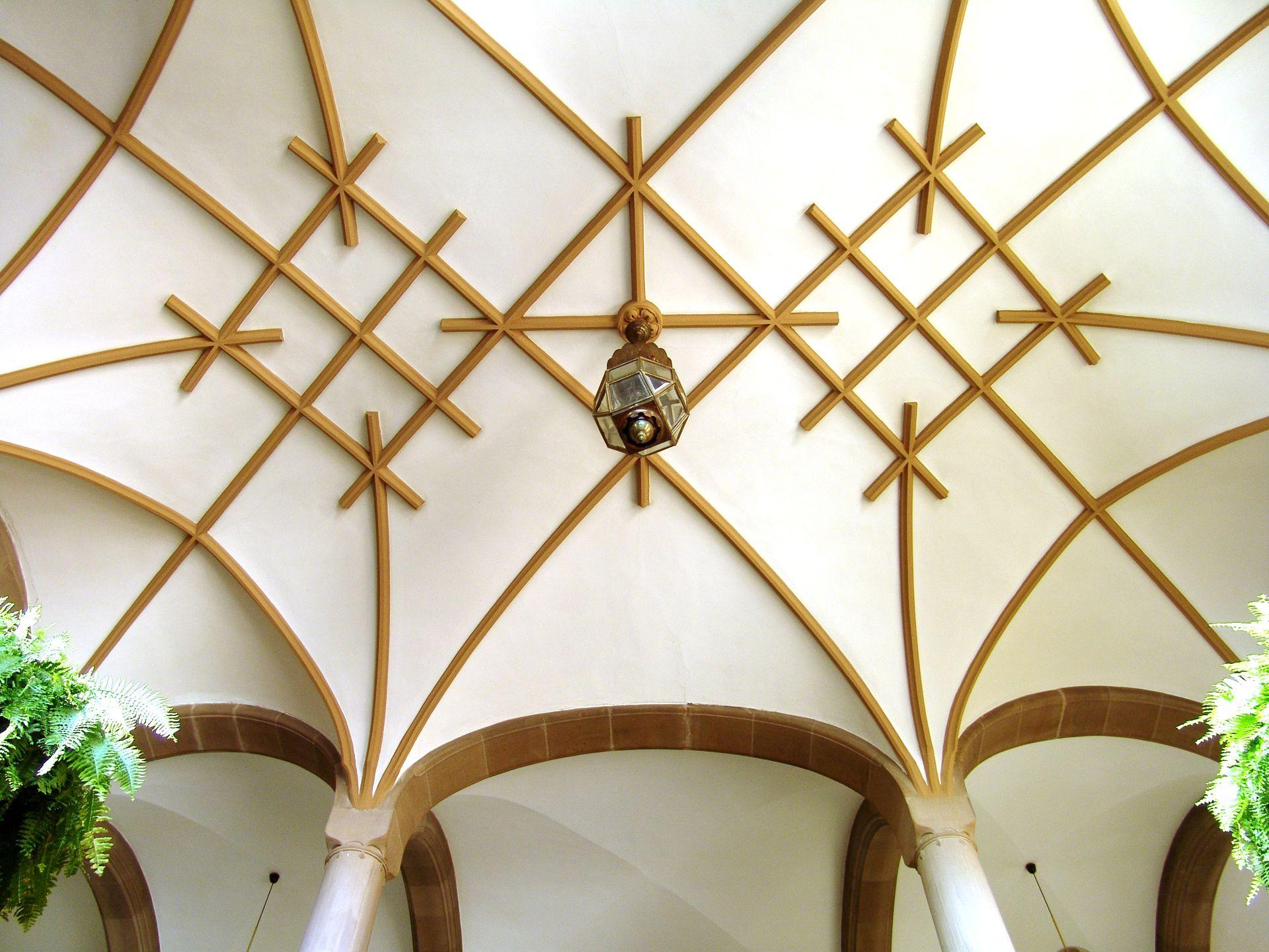 Sozialgericht Rippengewölbe des Treppenhauses