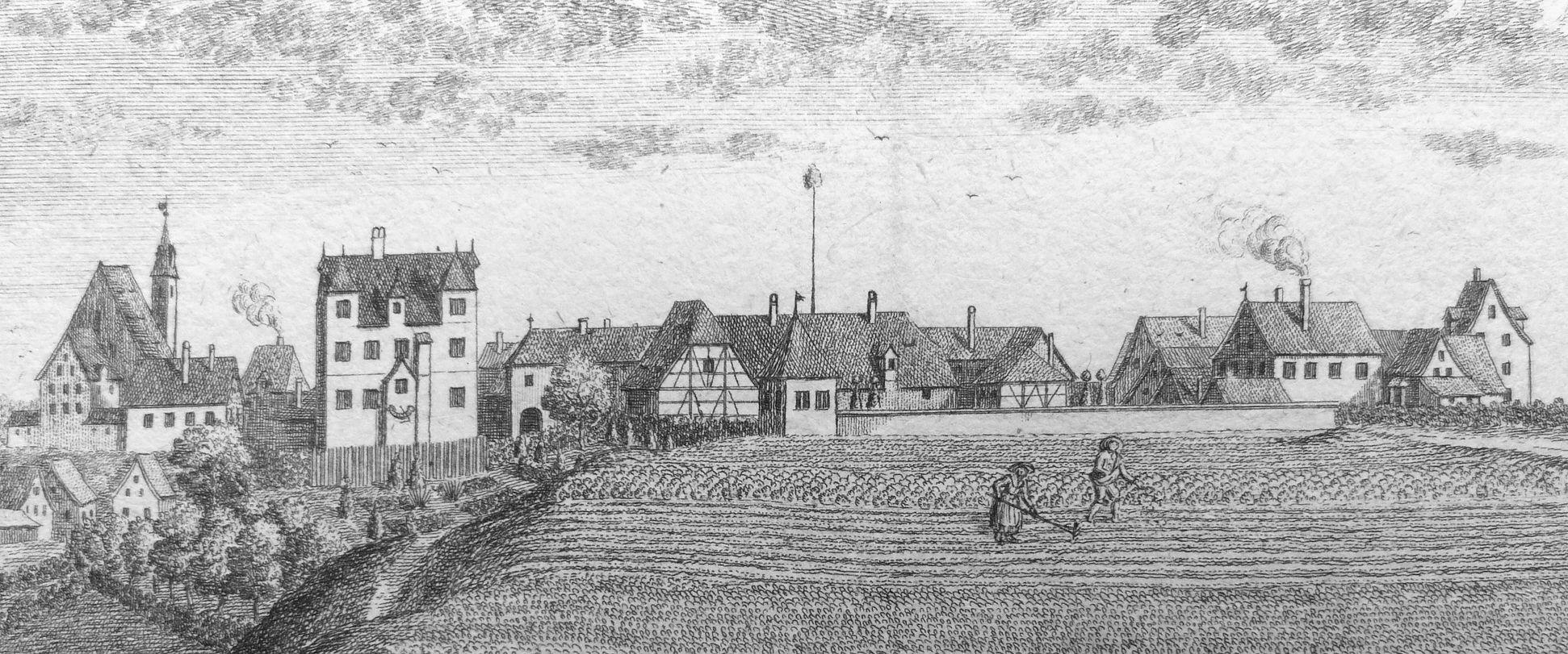Prospect von Moegeldorf Ansicht von Mögeldorf