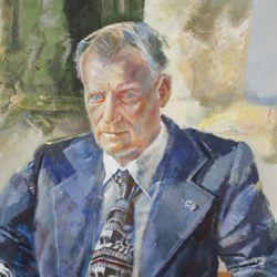 Bildnis Prof. Dr. Nikolaus Fiebiger
