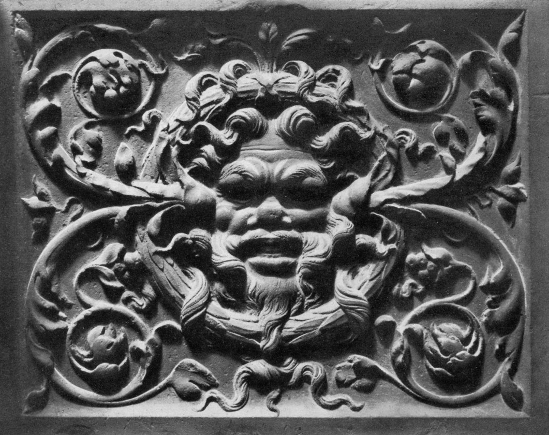 Hirsvogelsaal Relief an der südlichen Tür des Erdgeschosses