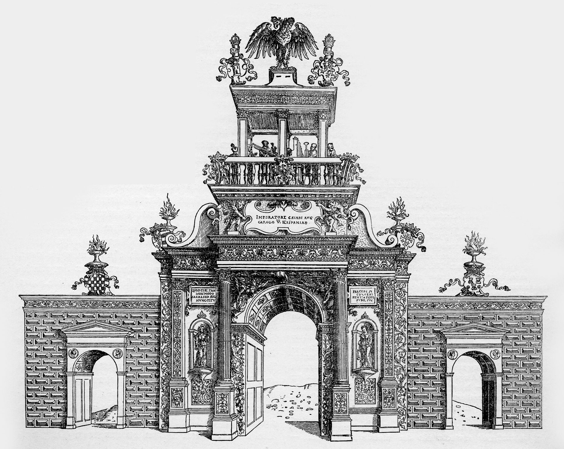Ehrenpforte für Karl V. Ehrenpforte für Karl V.