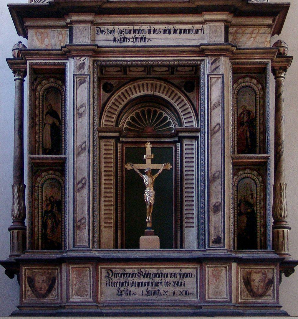 Flötner Altar (Ansbach) Schreinkörper