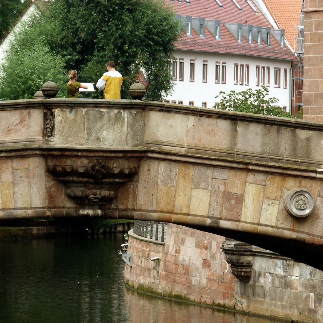 Fleischbrücke östliche Brückenkanzel