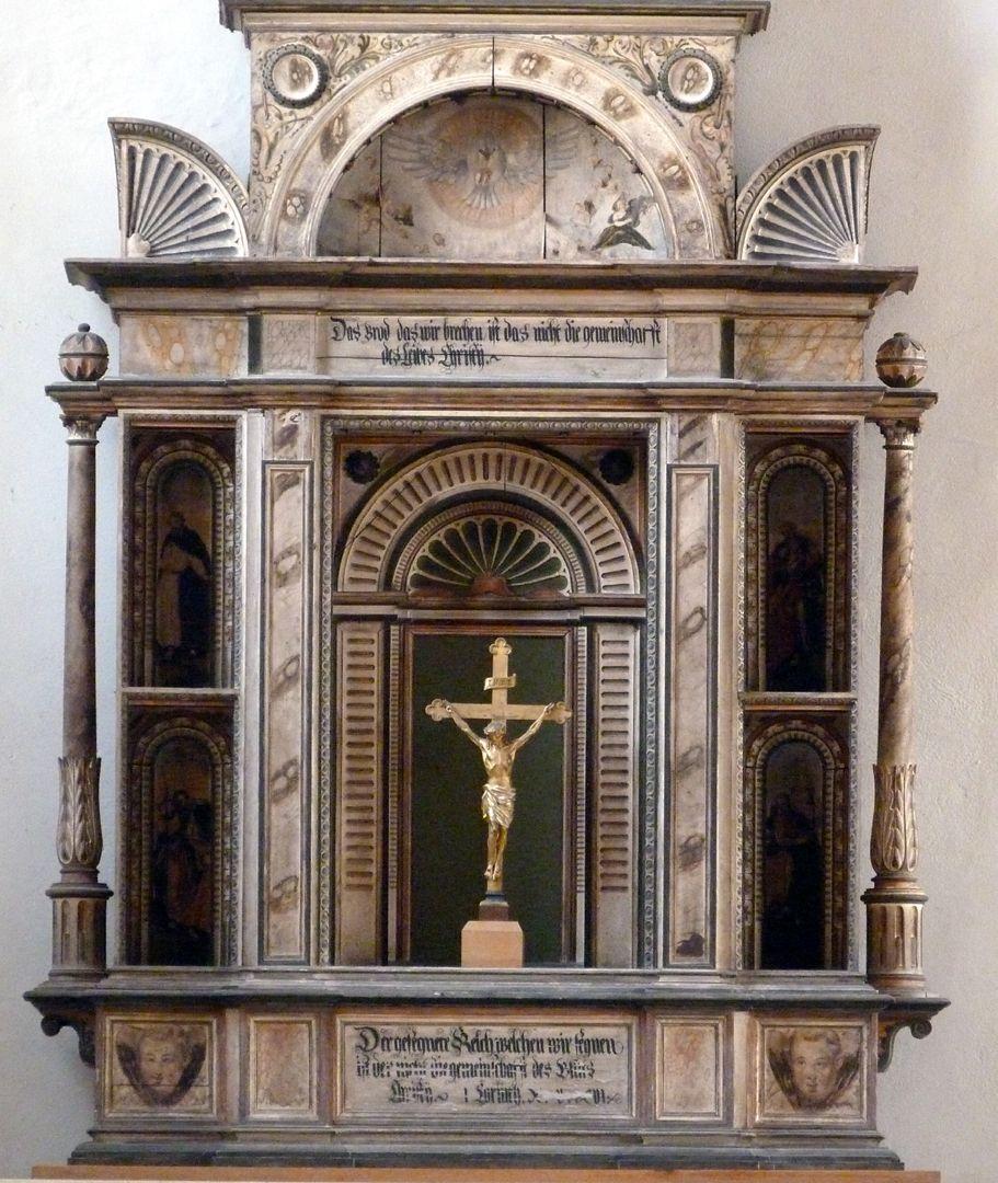 Flötner Altar (Ansbach) Altarkörper