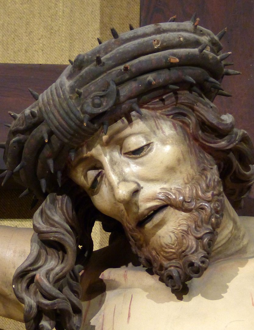 Kruzifixus Jesus mit Dornenkrone