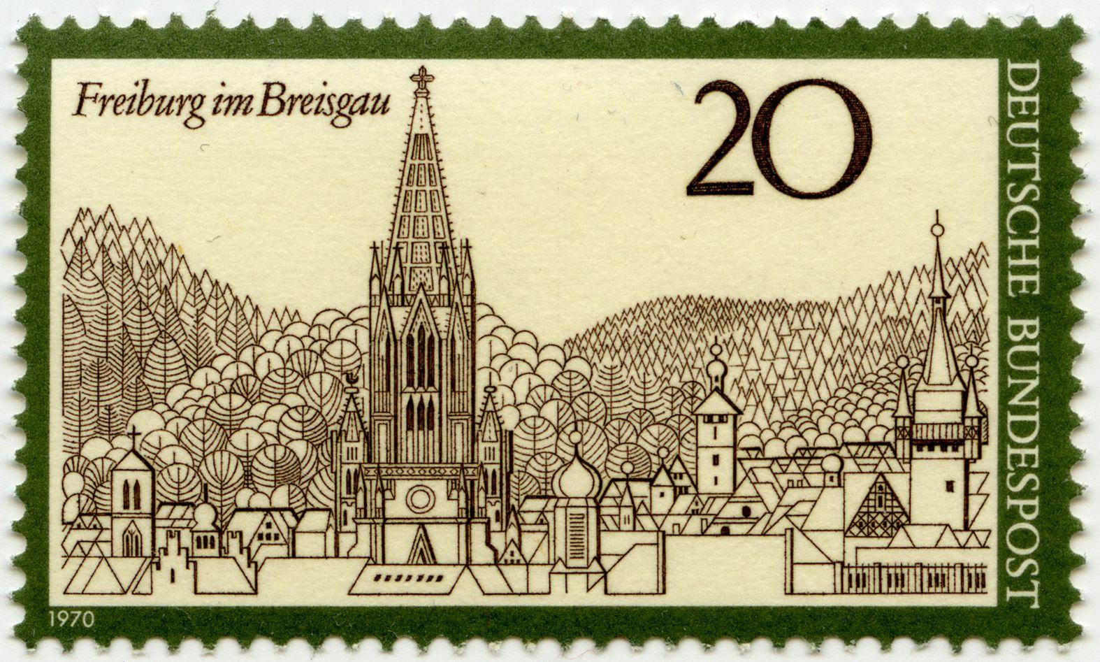 Freiburg im Breisgau Gesamtansicht