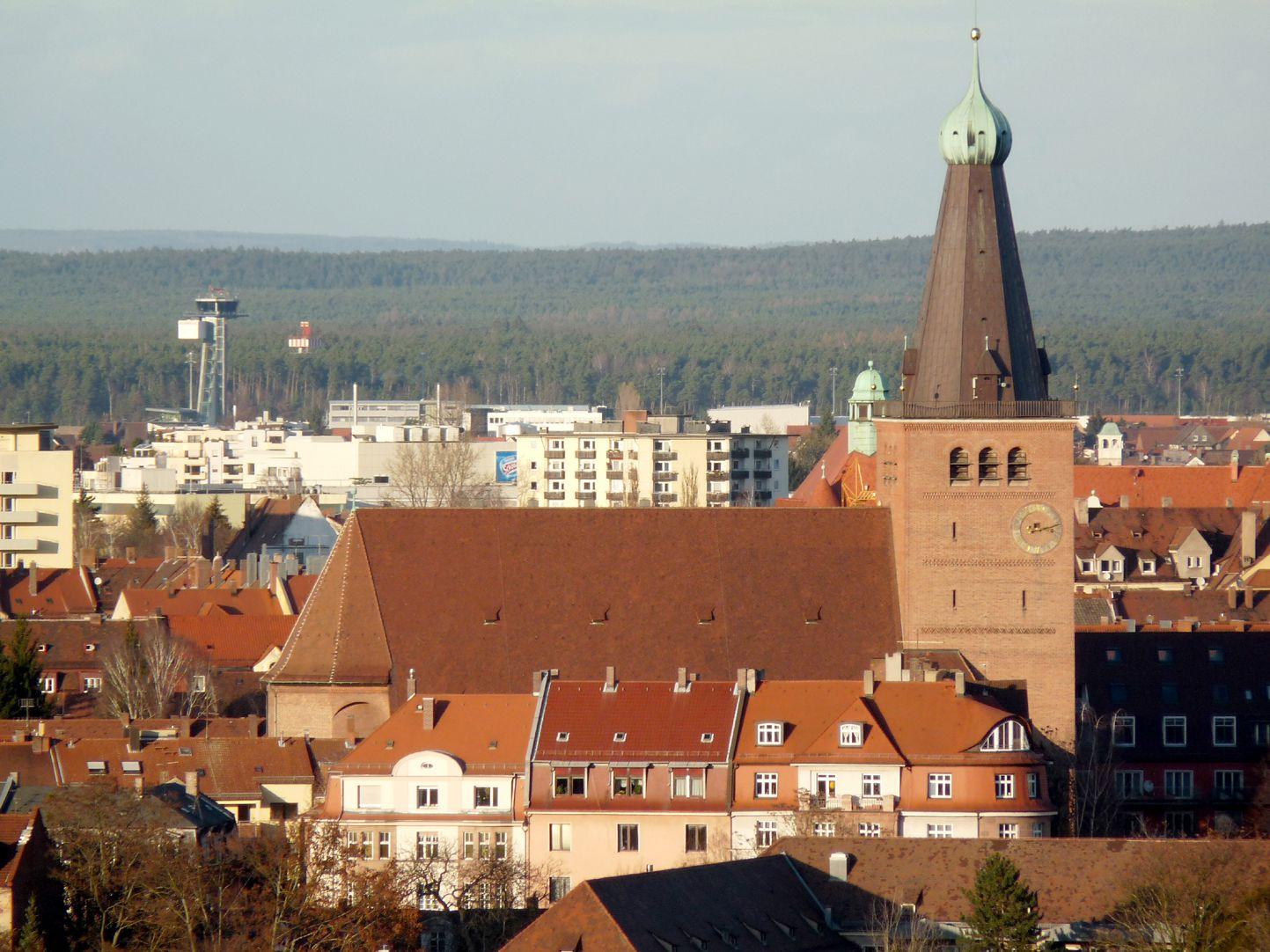Friedenskirche Ansicht von Süden